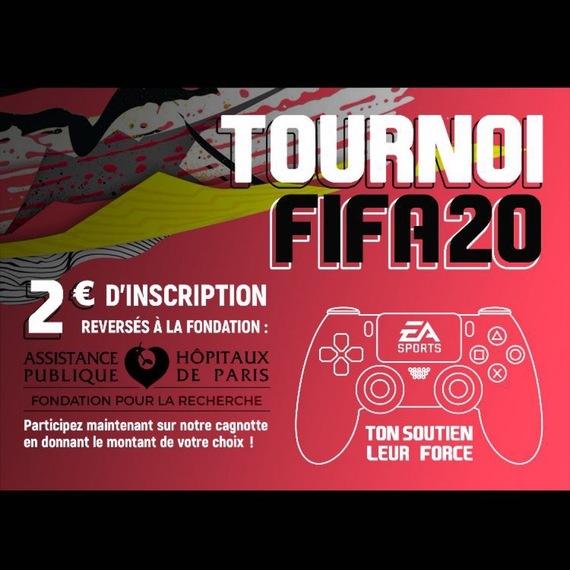 TOURNOI FIFA 20 - PS4 : Inscription tournoi, en aide au corps médical et aux malades (COVID-19)