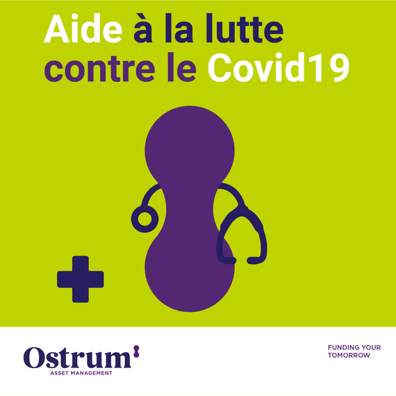 Joignez-vous à Ostrum pour soutenir la recherche pour lutter contre le Covid 19.