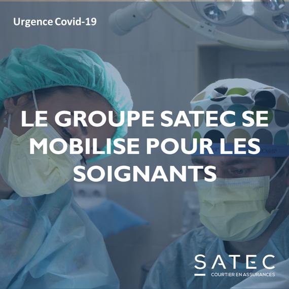 Urgence Covid-19 | Le Groupe SATEC se mobilise !