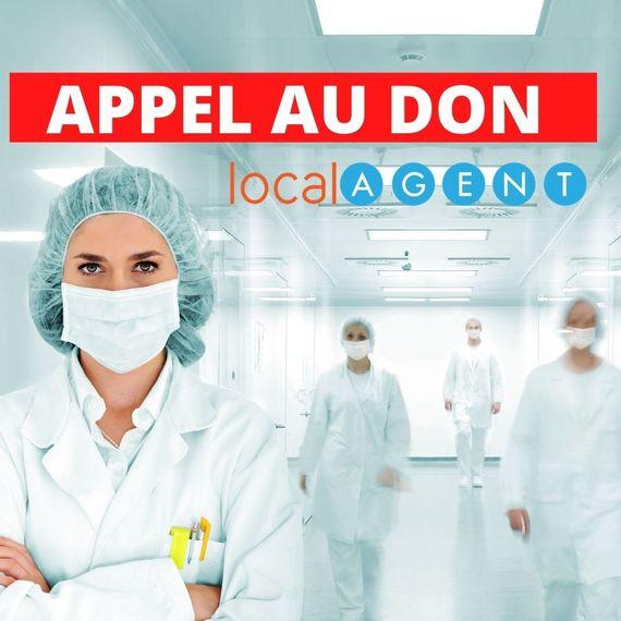 APPEL AU DON POUR NOS HEROS DE L'AP-HP |LOCAL AGENT IMMOBILIER